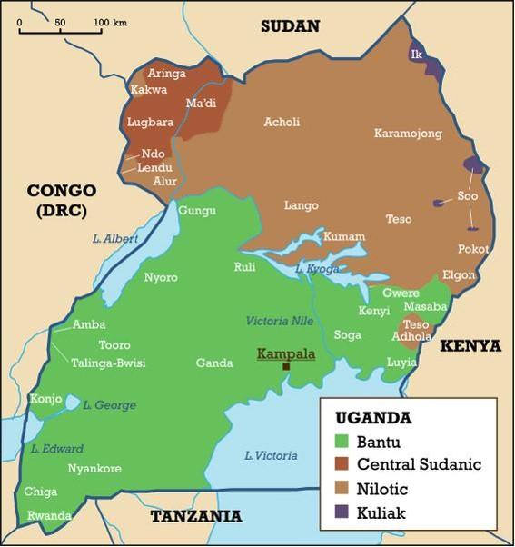Peoples across Uganda