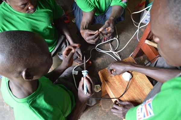 YDP Electronics Students at GDPU