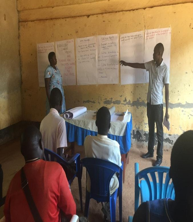 Project officer training and sharing knowledge