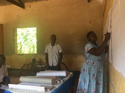 Record Keeping Training in Gulu