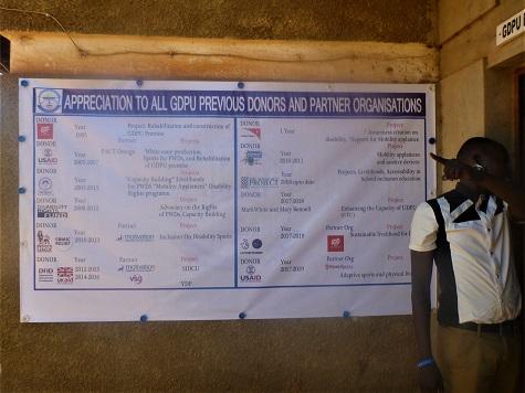 The Donor Board at GDPU