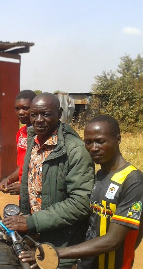 Chairman GDPU with Lubanga Lakica