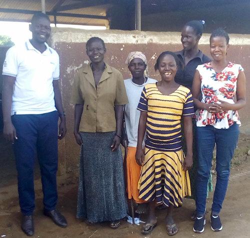 Nyeko Rach with Emma Okello and Okumu Morris
