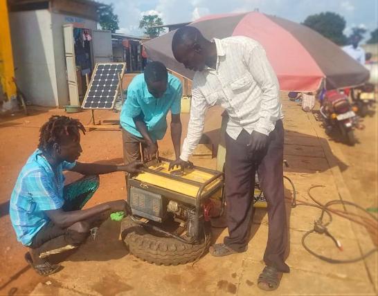 Generator training in Koch Goma